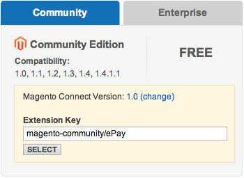 ePay betalingsportal