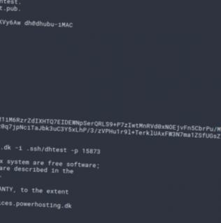 SSH-adgang – SSH access